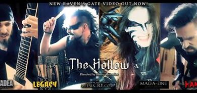 Photo of The Hollow – nuevo videoclip de Raven´s Gate